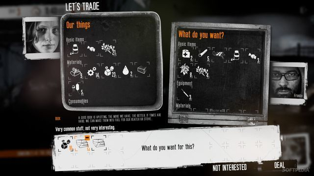 This War of Mine: The Little Ones trading