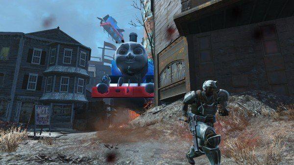 Thomas the Tank Engine Fallout 4 Mods