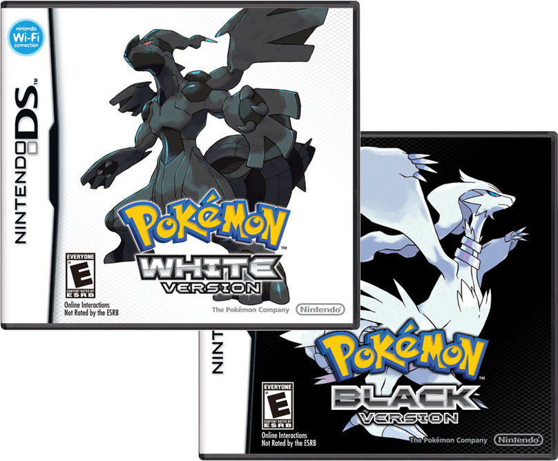 pokemon black how to start a new game