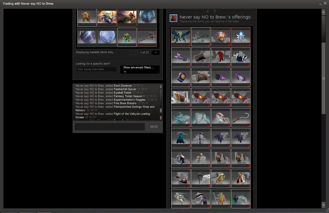 girlfriend gives away entire dota 2 inventory after boyfriend