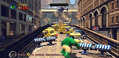 Defeating Sandman in New York City Part I - Lego Marvel Superheroes