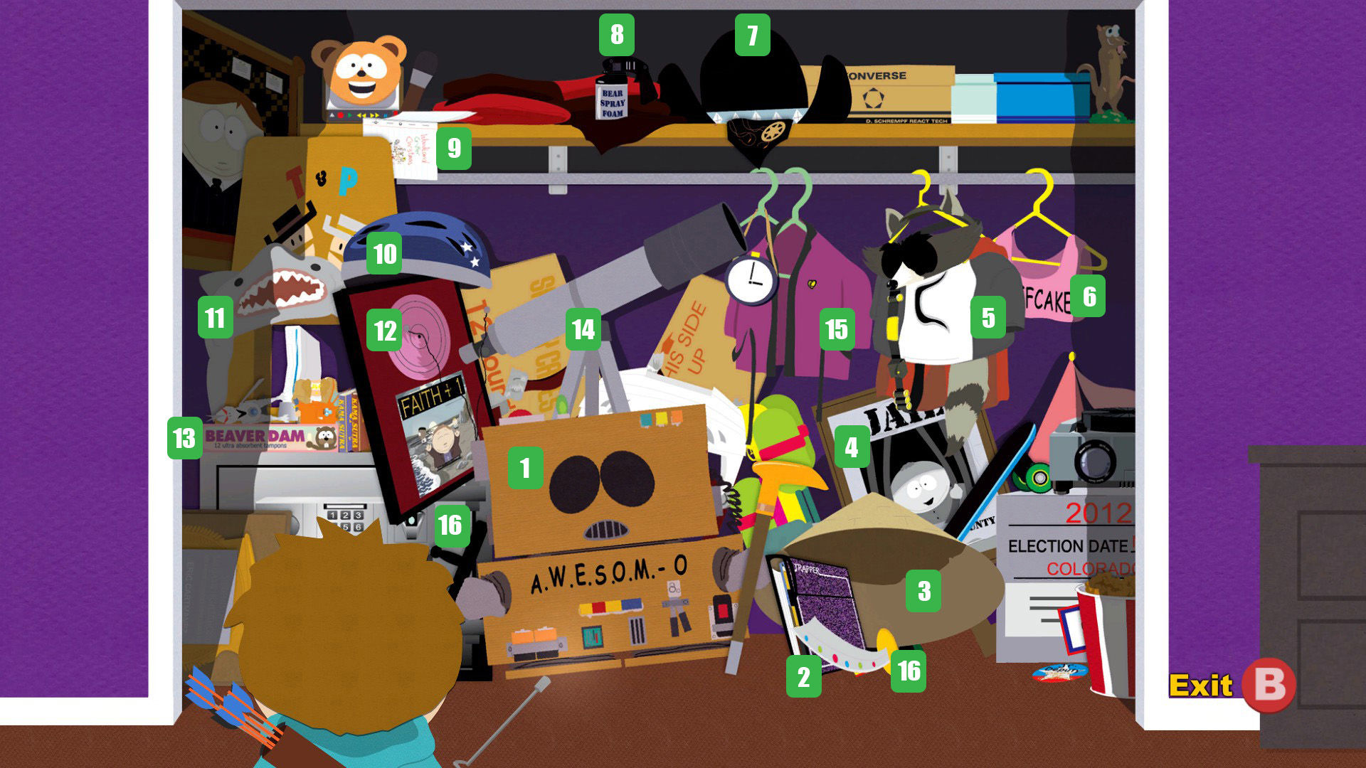 List Of References In South Park The Stick Of Truth South Park