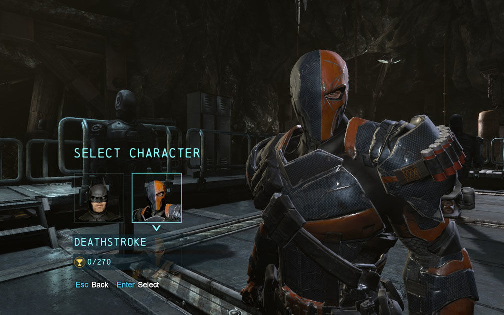 Batman: Arkham Origins Deathstroke Challenge Pack Trailer ...