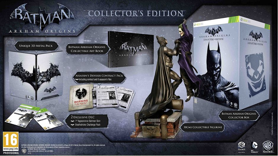 While You Get A Lot Less In Terms Of Goodies The UK Version Do Pretty Cool Batman And Joker 12 Inch Statue Similarly Priced At GBP80