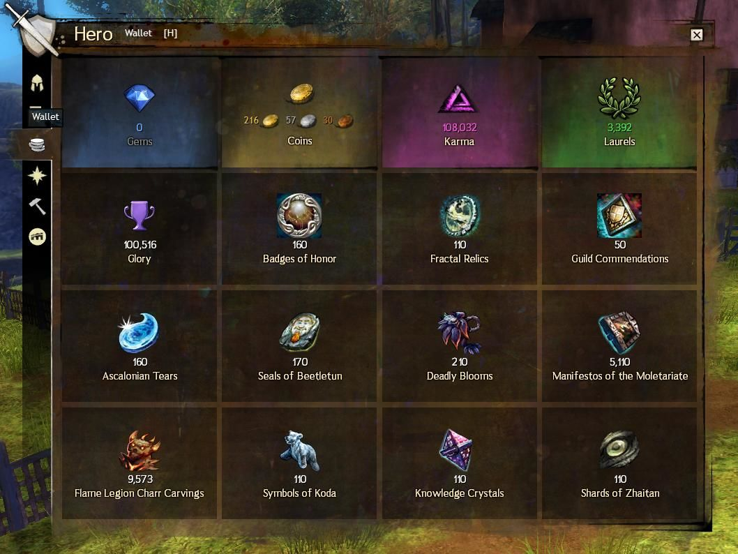 Guild wars 2 gold making guide guild wars 2 as you play guild wars 2 youre going to find a whole bunch of other currencies aside from gold that are going to build up if you dont use them forumfinder Gallery