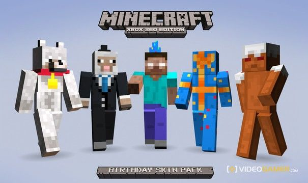 Minecraft Edition Giving Us Rare Skin Pack For Free Minecraft - Skins para minecraft ps3 gratis