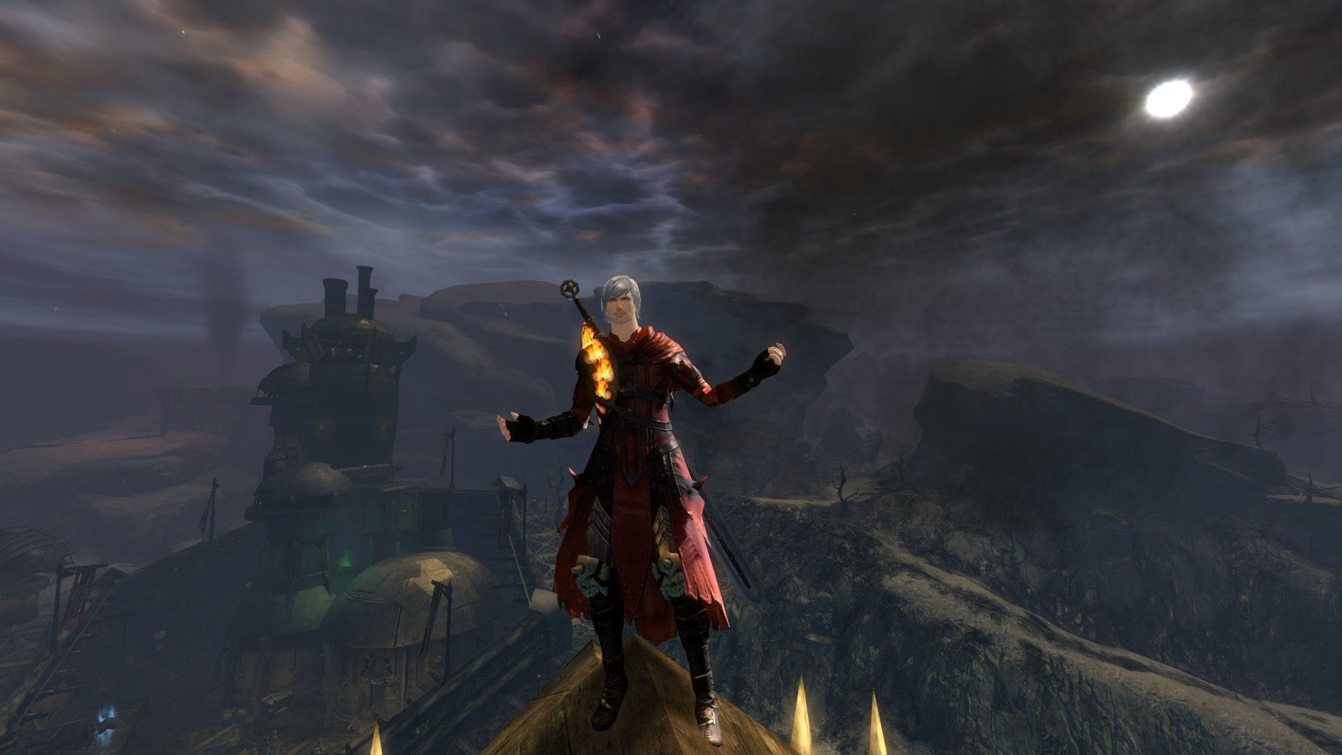 Guild Wars 2 Fashion - Dante from Devil May Cry 4   Guild Wars 2