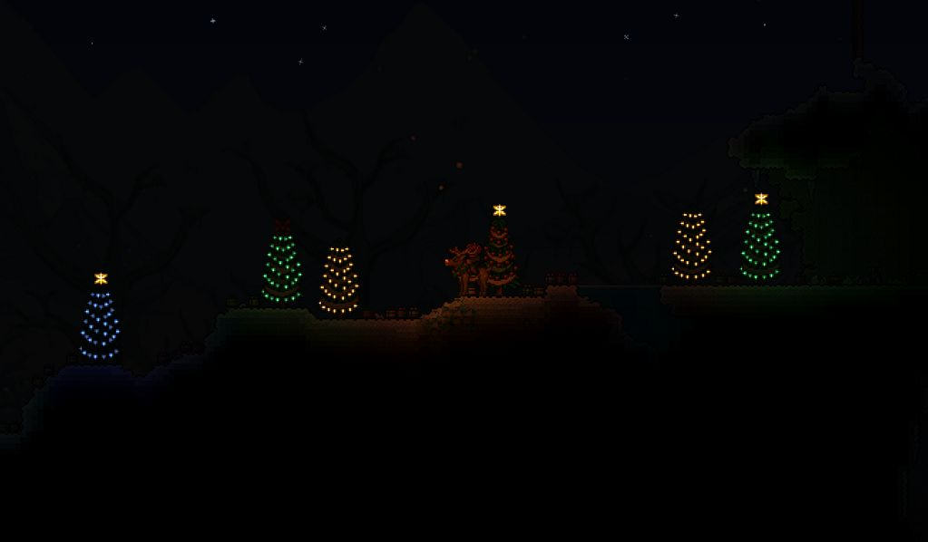 Terraria Christmas House.Christmas Update Teaser For Terraria Terraria