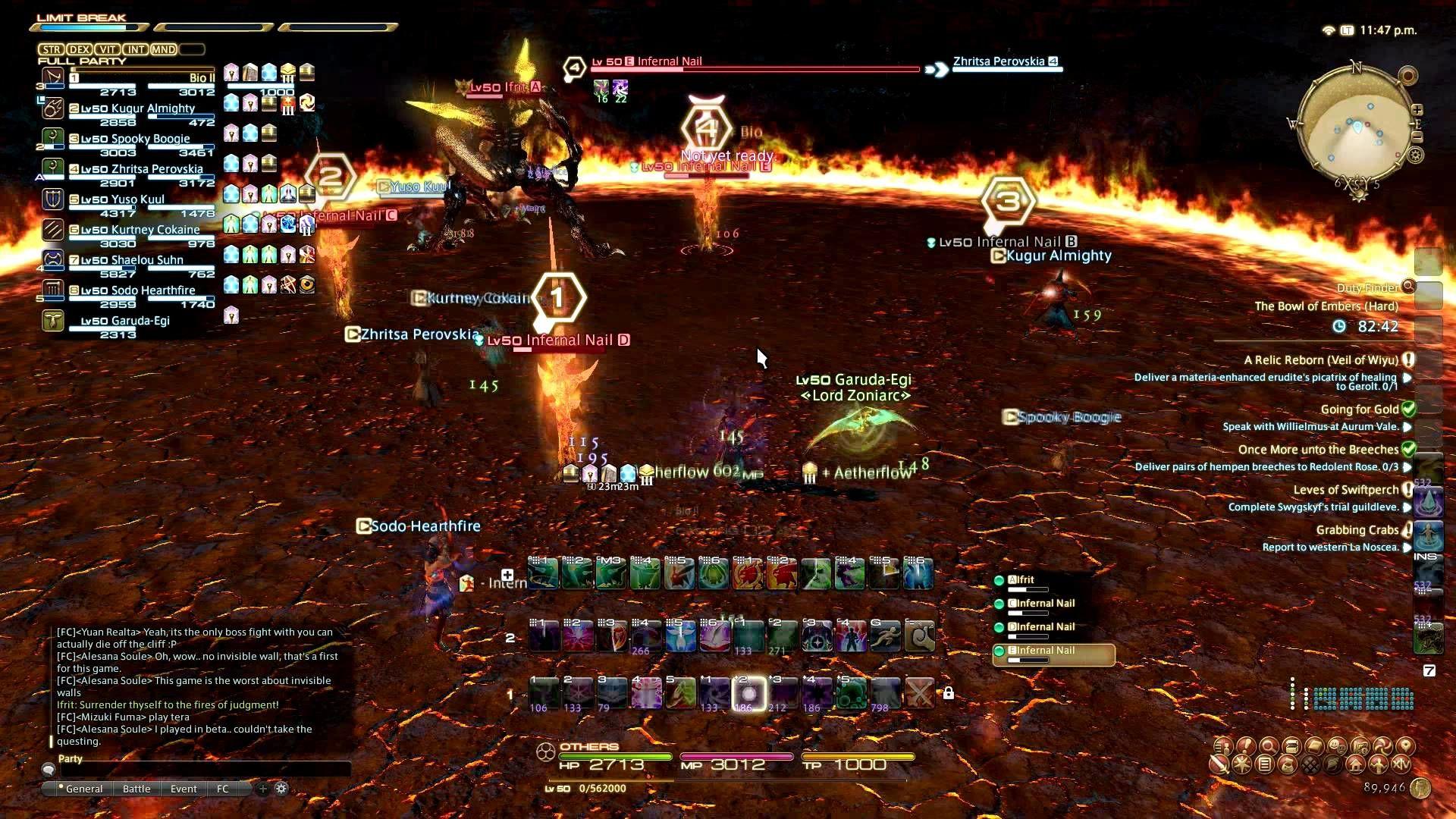 FFXIV Ifrit Hard Mode Guide | Final Fantasy XIV