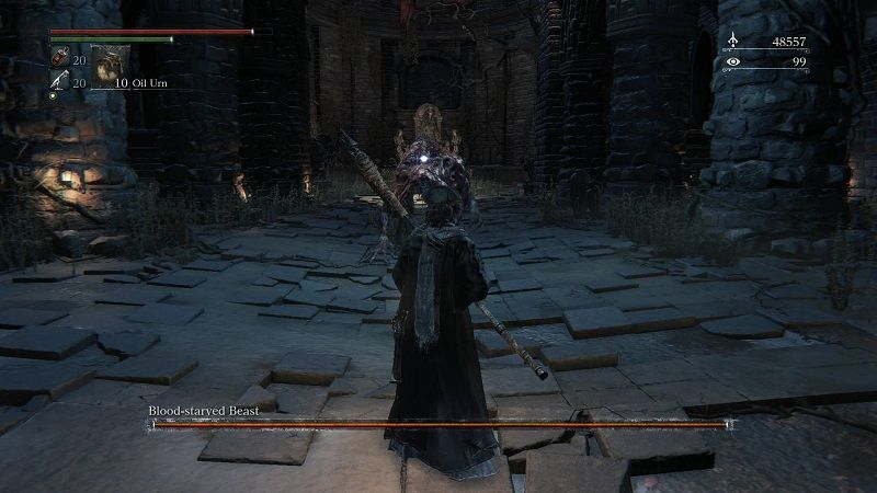 Bloodborne Boss Guide Beating The Blood Starved Beast