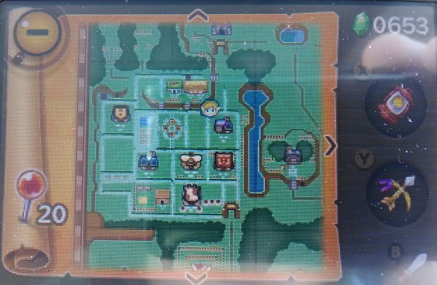 Legend of Zelda: A Link Between Worlds - Learning to Swim ...