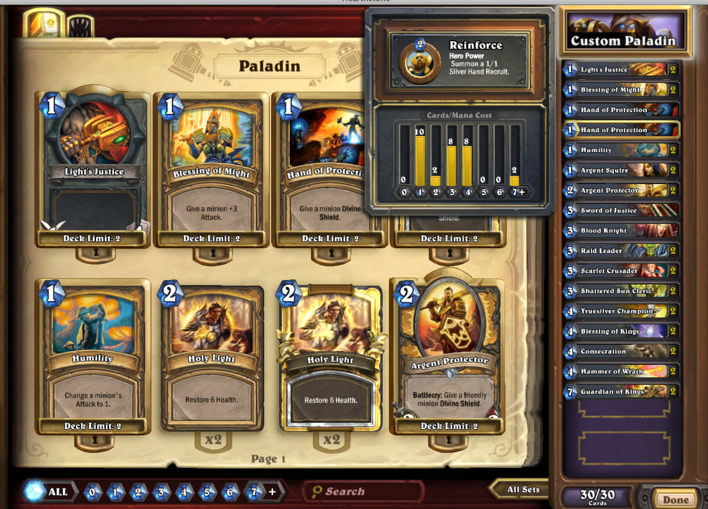 Build My Deck Hearthstone