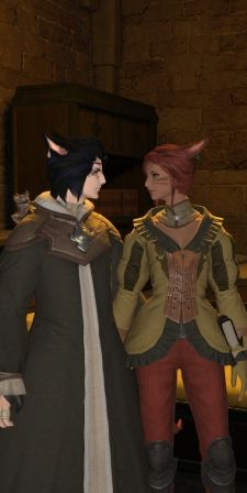 In Final Fantasy XIV, your core is probably cats.