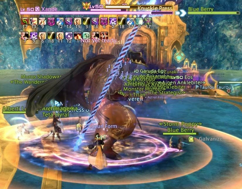 FFXIV: Syrcus Tower - Xande Boss Guide   Final Fantasy XIV