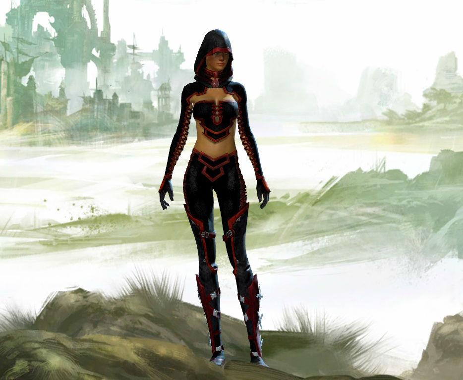 GW2 Fashion: Stealthy and Deadly Human Thief