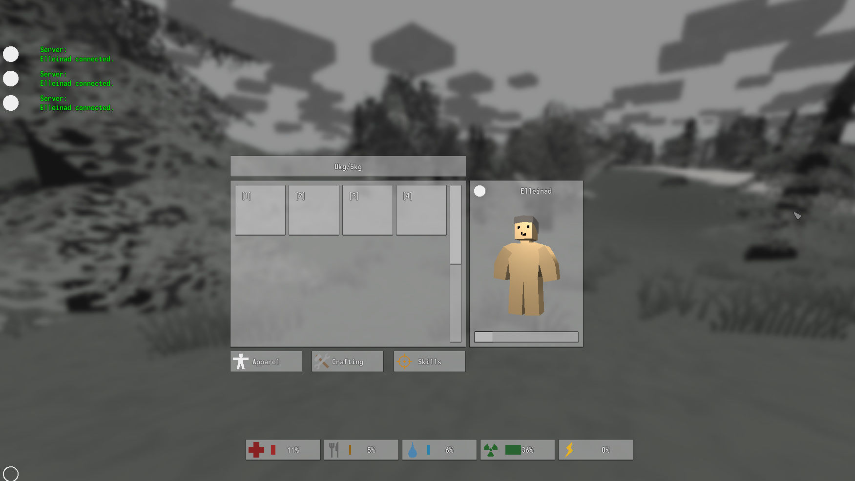unturned how to give yourself items