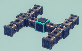 Besiege - Building Guide to Four Simple Steering Vehicles