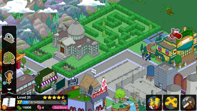 tapped out quests