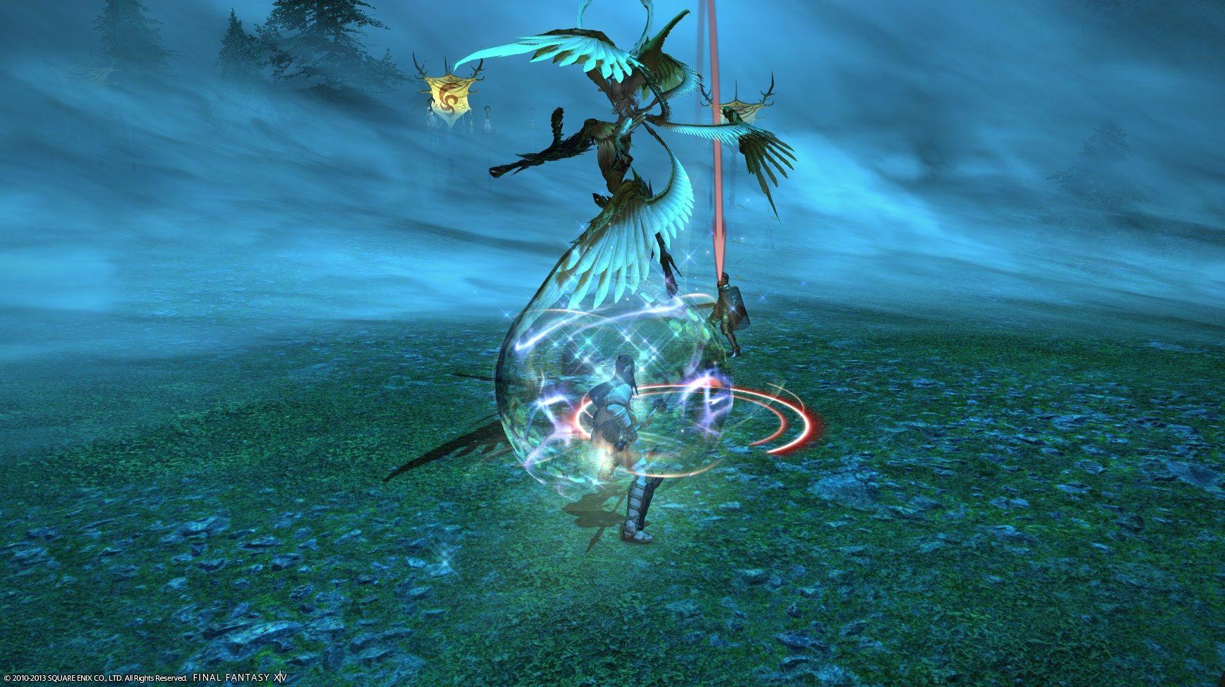 Razor Side By Side >> FFXIV Garuda Fight Guide | Final Fantasy XIV
