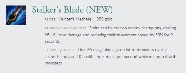 League of Legends Season 5 New Item Guide: Jungle Items