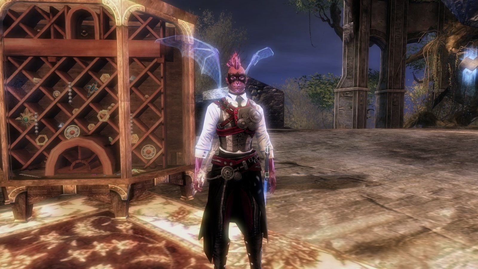gw2 fashion posing with my mate balthazar d guild wars 2