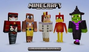 Minecraft Edition Giving Us Rare Skin Pack For Free Minecraft - Descargar skin para minecraft pe ender dragon