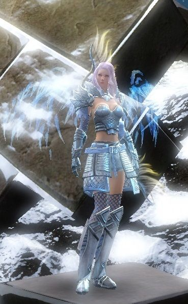GW2 Fashion - Heavy Armor ~ now with Double Wings   Guild Wars 2