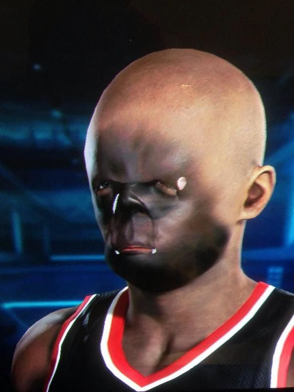 NBA 2K15 Face-scanner Renders Disfigured Faces | NBA 2k15