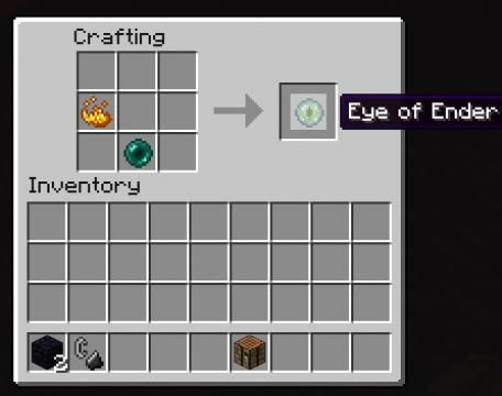 How To Craft Eye Of Ender In Minecraft Pe
