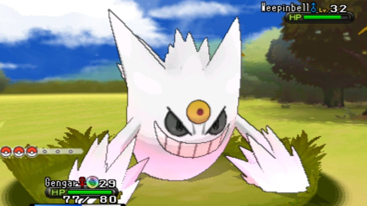 Pick Up A Shiny Mega Gengar At Gamestop This Month Pokemon X And Y