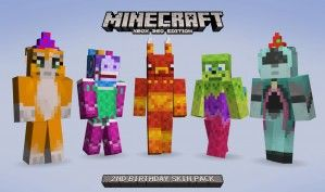Minecraft Edition Giving Us Rare Skin Pack For Free Minecraft - Skin para minecraft pe de luna