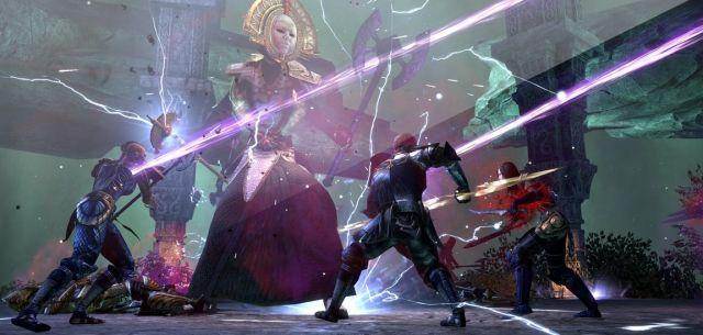 Elder Scrolls Online boss fight