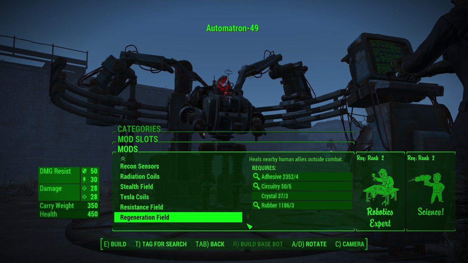 fallout 4 how to start automatron