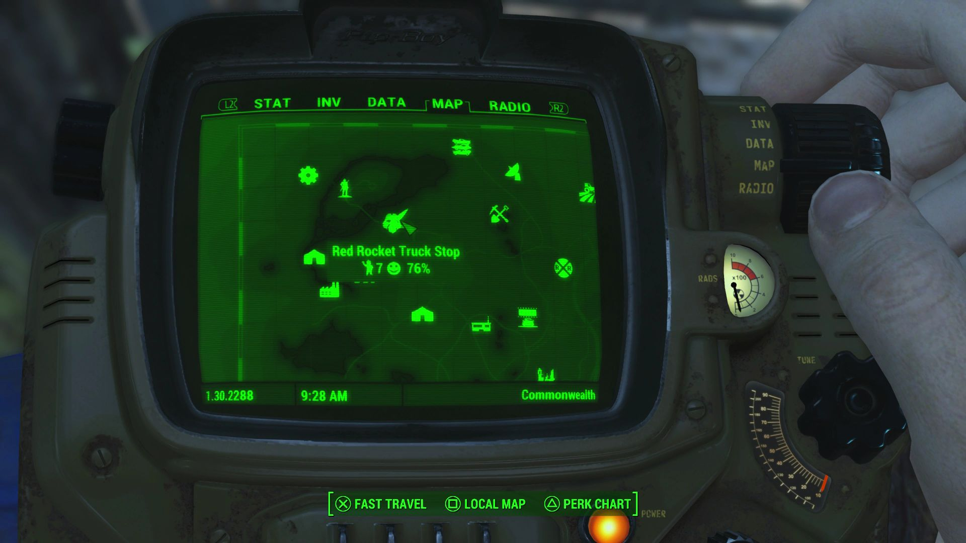 Dogmeat Fallout Location On Map on