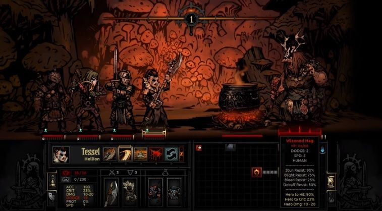 Focus Ring Darkest Dungeon