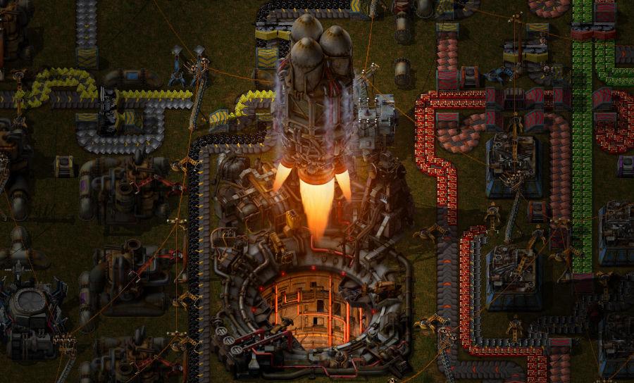 Factorio Rocket 33433
