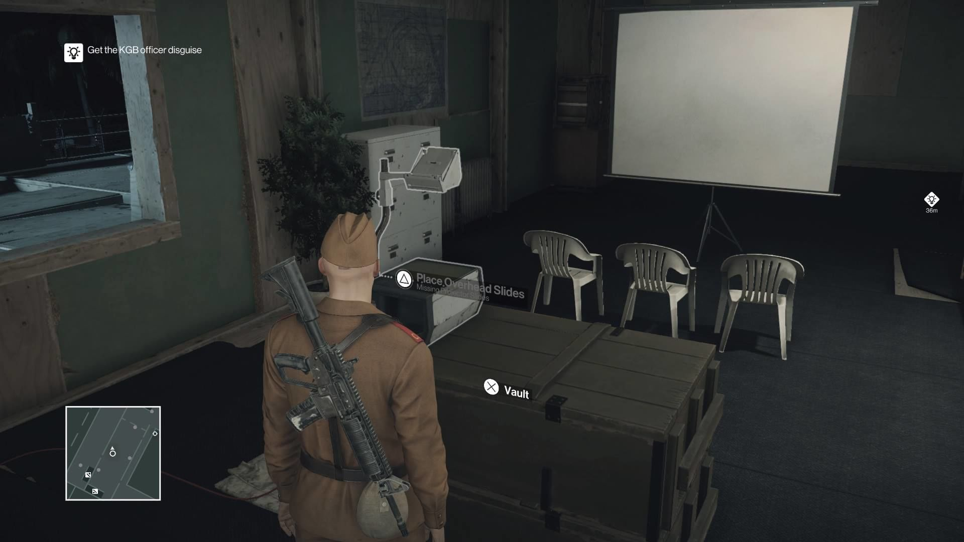 hitman how to get into zaydans office suit only