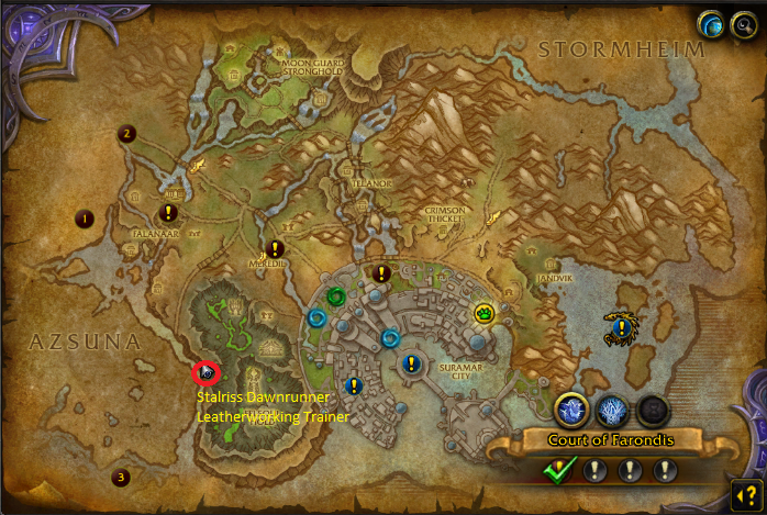 wow legion leatherworking quests
