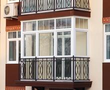 Остекление балкона и отделка лоджий