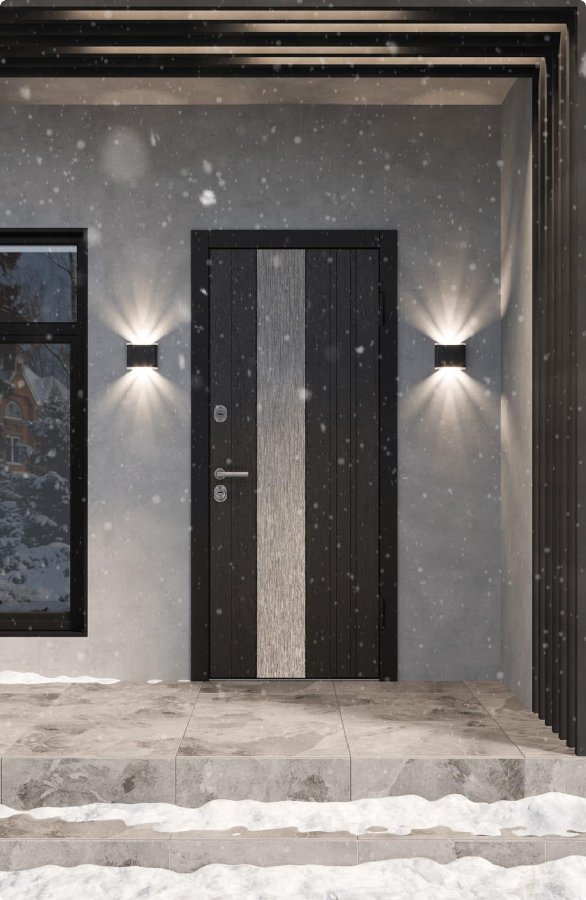Пример входной двери 11