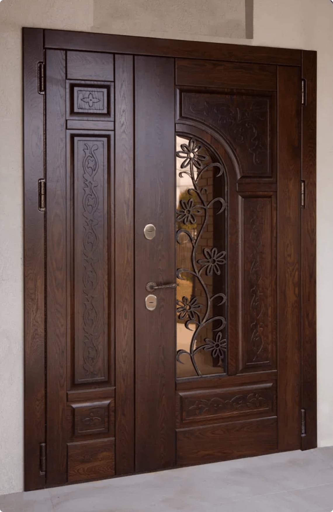 Пример входной двери 13