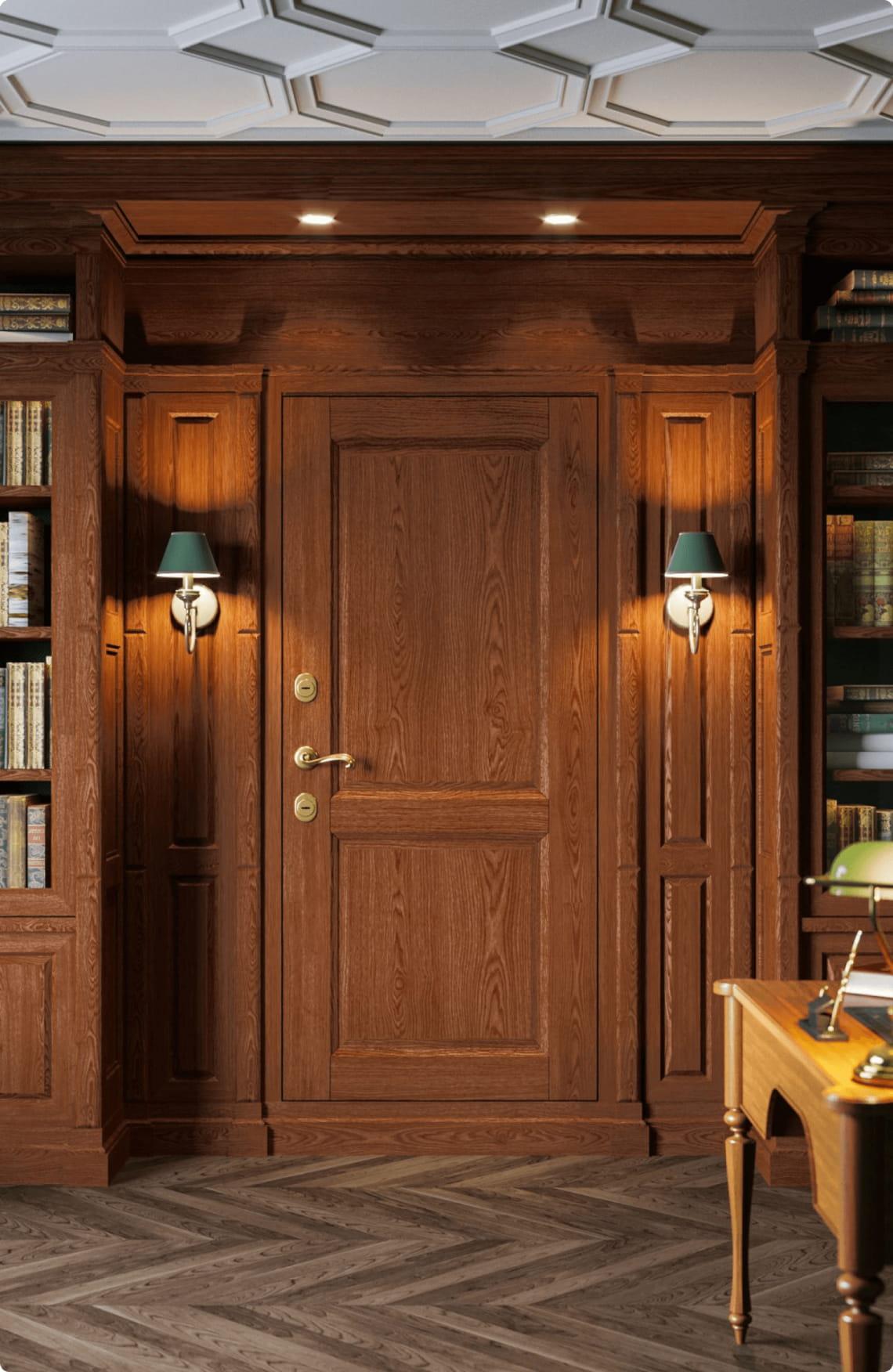 Пример входной двери 3