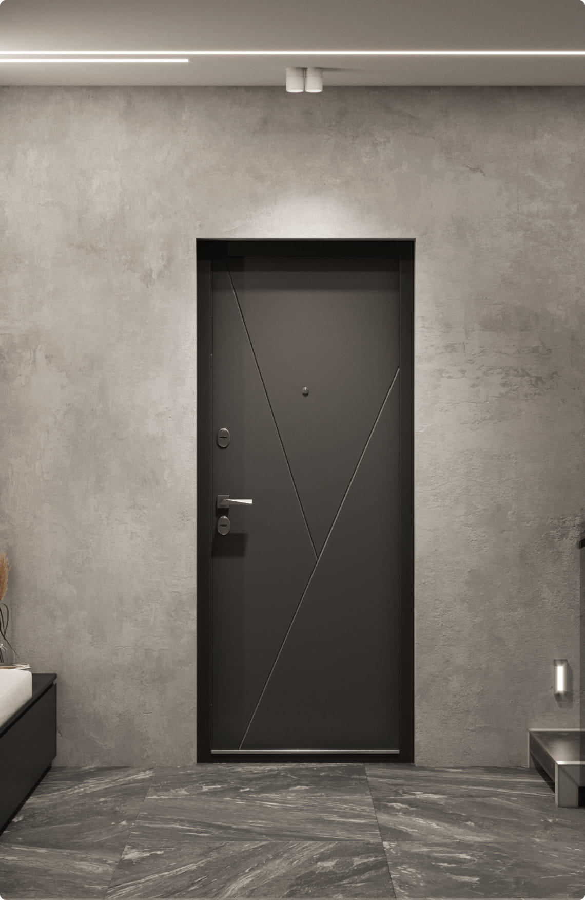 Пример входной двери 4