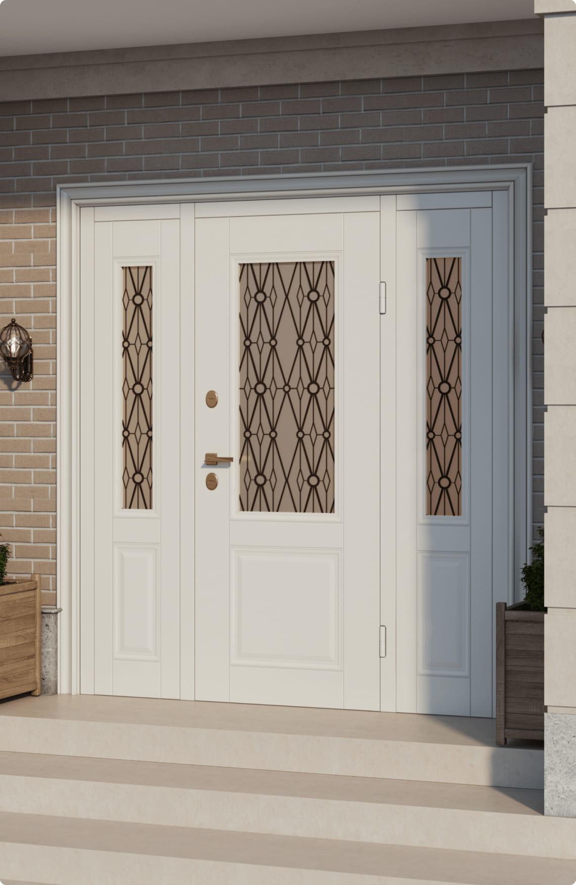 Пример входной двери 5