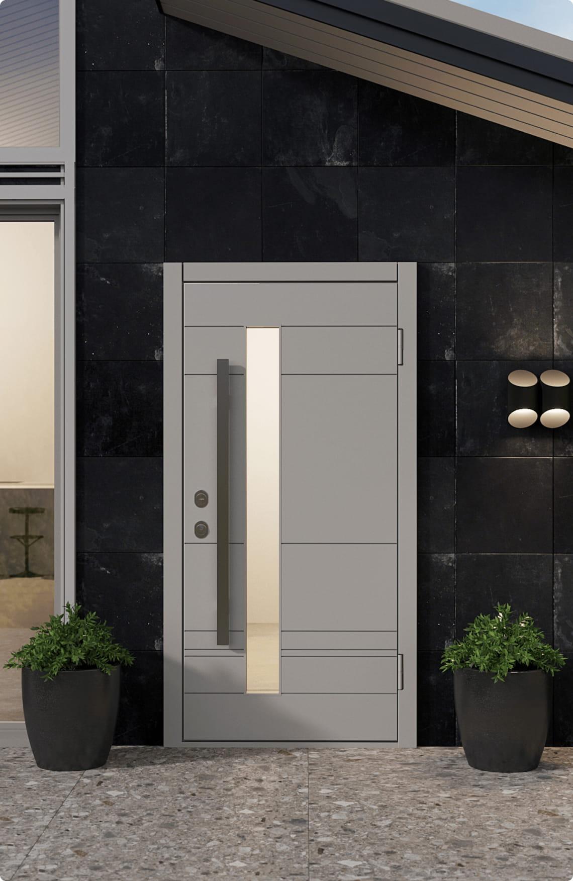 Пример входной двери 6