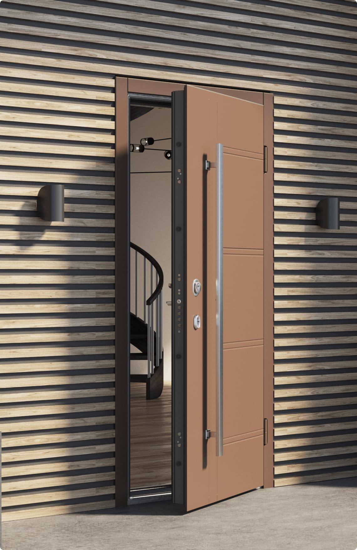 Пример входной двери 8