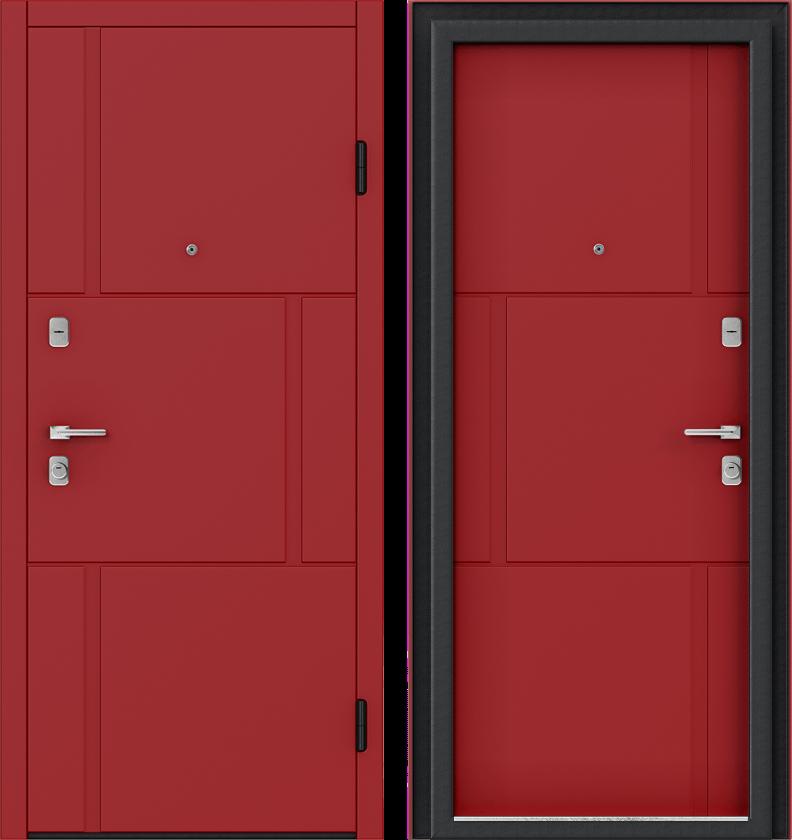 Вариант двери: Эмаль, красная линии