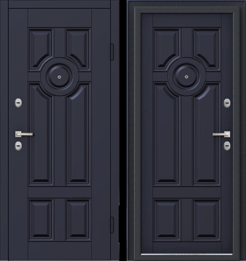 Вариант двери: Эмаль, темно-синий