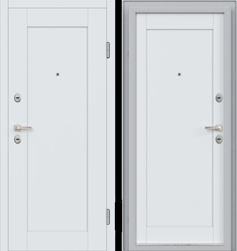 Вариант двери: Эмаль, светло-серый