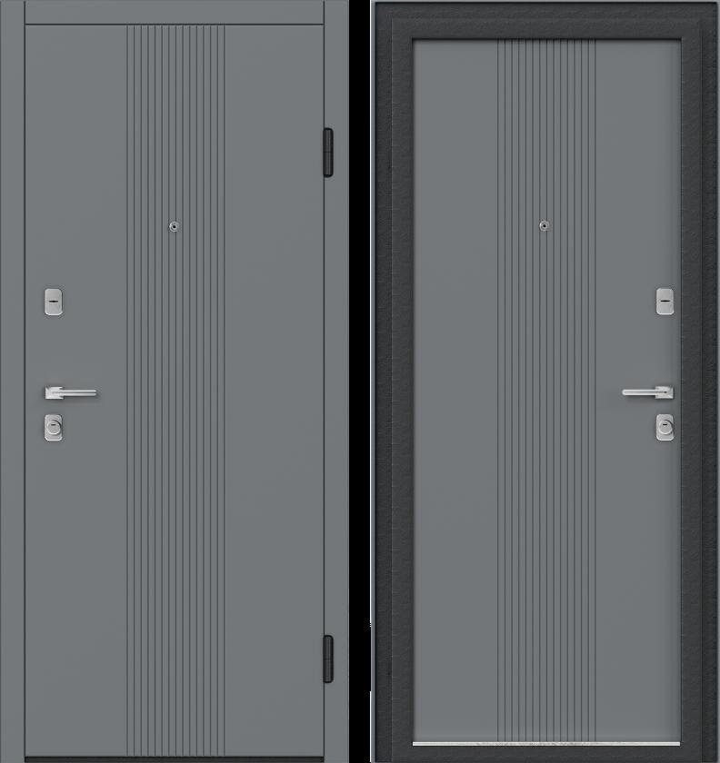 Вариант двери: Эмаль, серый линии